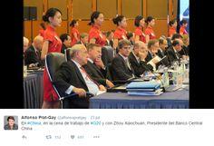 Los ministros de Finanzas y gobernadores de bancos centrales del G-20 han estado reunidos durante dos días en Chengdu (China), en los que el tema central de las conversaciones ha sido la salida de Reino Unido de la Unión Europea, el tan comentado Brexit.
