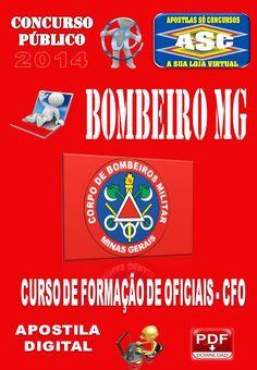 Apostila Concurso Bombeiro MG Curso de Formacao de Oficiais CFO 2014
