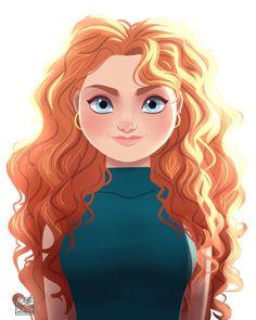 Современные портреты Дисней Принцесс