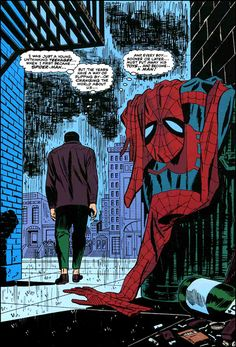 The Iconic Spider-Man No More by John Romita. Sr