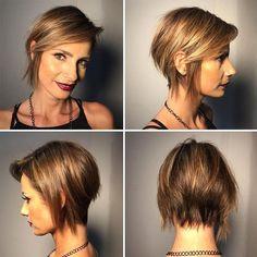 Short Choppy Hairstyles 2018 29