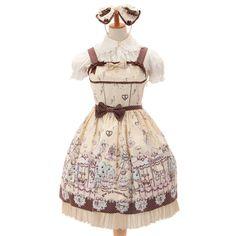http://www.wunderwelt.jp/products/detail6675.html ☆ ·.. · ° ☆ ·.. · ° ☆ ·.. · ° ☆ ·.. · ° ☆ ·.. · ° ☆ Milk-chan of Fantasy wonderland jumper skirt & headband set BABY THE STARS SHINE BRIGHT ☆ ·.. · ° ☆ How to order ↓ ☆ ·.. · ° ☆ http://www.wunderwelt.jp/user_data/shoppingguide-eng ☆ ·.. · ☆ Japanese Vintage Lolita clothing shop Wunderwelt ☆ ·.. · ☆ #egl