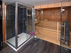 Sauna/shower combination VSB Wellness