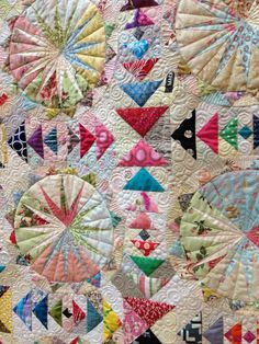 Two Person Quilt- Alison Robins and Krista Withers - Never Again.  2013 Festival of Quilts, photo by 77 Belle