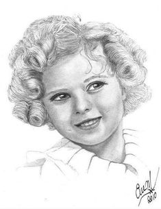 Shirley Temple by Eve Maureen Marshall