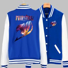 Fairy Tail Logo Baseball Shirts