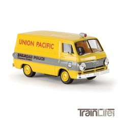 HO Scale: 1964 Dodge A 100 Cargo Van - Union Pacific