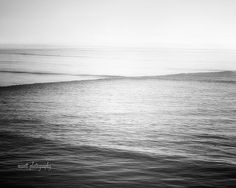 Dreamy Ocean Photography  Monochromatic by MScottPhotography