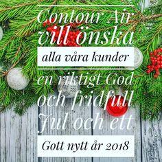 Vi önskar alla våra kunder en riktigt God och fridfull Jul och ett Gott nytt år 2018!  #contourairse #litemeravallt #godjul #pin #välkomnavärlden #paketresor #gruppresor #rundresor #specialresor #researrangör #resebyrå #2018