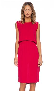 American Vintage Magdalena Tank Dress in Cherry