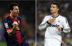 Un duelo apasionado; Messi y Cristiano Ronaldo yeeeei