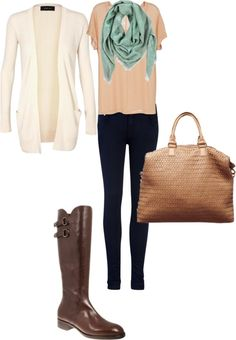 """""""Casual Fall Outfit"""" by botticellishoes on Polyvore"""