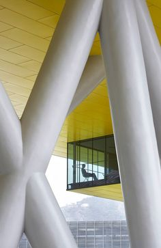 Vanke Center: A Horizontal Skyscraper Over Maximized Landscape Steven Holl Architects