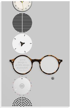 A portrait poster of Dieter Rams on Behance