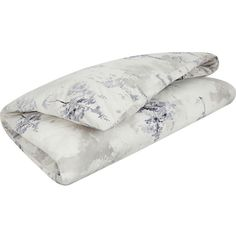 CALVIN KLEIN Alpine Meadow cotton sateen duvet cover ($210) ❤ liked on Polyvore featuring home, bed & bath, bedding and duvet covers