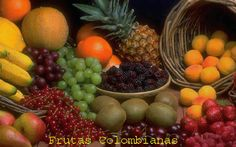 FRUTAS TROPICALES DE COLOMBIA QUE HACEN DE LA VIDA UNA DULZURA............. http://www.chispaisas.info/guatape4.htm