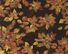 Shades Of The Season Metallic 5 Fabric by SewCountryAndGifts