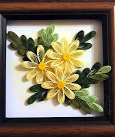 Basic quilling flowers