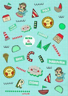 www.pepitagrilla.com Pula, Dubrovnik, Illustrations, Illustration, Character Illustration, Illustrators, Drawings