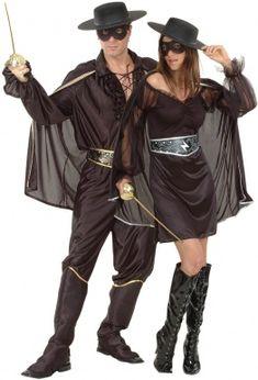 Disfraz de pareja de justiciero