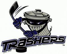 Danbury  Trashers Primary Logo (2005) -