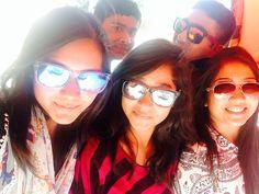 Group selfie.