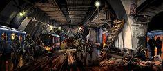 Metro 2033 - Concept Art | Concept art for Metro 2033. Set i… | Flickr