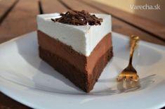 Famózna čokoládová torta-IKEA? Desserts To Make, Low Carb Desserts, Sweet Desserts, Sweet Recipes, Dessert Recipes, Czech Recipes, Sweet Cakes, Something Sweet, Other Recipes