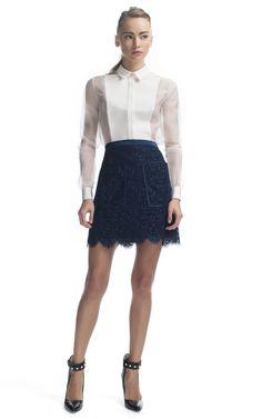 Jason Wu Patch Pocket Combo Flounce Skirt at Moda Operandi