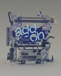 Add-on by Omar Aqil | Abduzeedo Design Inspiration