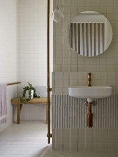 Laundry In Bathroom, Small Bathroom, Washroom, Bathroom Ideas, Bathroom Design Inspiration, Bathroom Interior Design, Minimal Bathroom, Scandinavian Bathroom, Japanese Interior