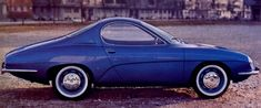 bleue d 1964 Renault R8 Coupe Sport Prototype by Ghia
