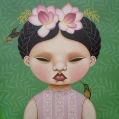 Poh Ling Yeow a Malaysian-born Australian artist, actress and runner-up in MasterChef Australia. Art And Illustration, Illustrations, Masterchef Australia, Cartoon Kunst, Cartoon Art, Weird Pictures, Australian Artists, Rock Art, Asian Art