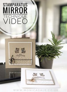 Stampin' Up UK Demonstrator Monica Gale, helps you unleash your creative side. Card Making Tips, Card Making Techniques, Making Ideas, Rubber Stamping Techniques, Hand Stamped Cards, Stampin Up Catalog, Stamping Up, Stamping Tools, Card Tutorials