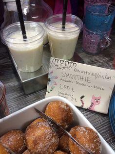 Tervetuloa Hippulaan smoothielle ja munkille, Joukolantie 3. #ravintolapäivä #restaurantday