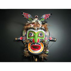 King of the Undersea World Mask by Rupert Scow,  Kwakwaka'wakw or Kwakiutl Native artist