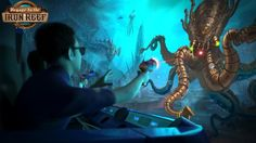 Zap steampunk-influenced creatures on the new ride coming to Knott's Berry Farm in 2015.
