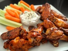 Skinny Buffalo Chicken Wings
