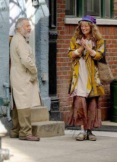 Dustin Hoffman rueda con Emma Thompso y Adam Sandler