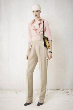 Balenciaga One-pleat Cummerbund Pants