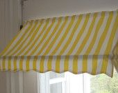 "READY-MADE Indoor Awning Curtain (31 1/2"" wide). $79.00"