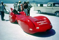 """Redhead"" Bonneville Land Speed Car"