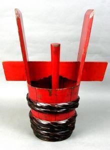 Japanese sake bucket  a sake what?