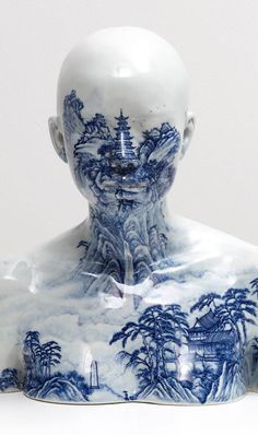 China China - Bust 81 (2004) by Ah Xian, who sought asylum in Australia after the Tiananmen Square massacre