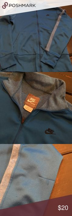 Nike jacket Nike jacket in good condition but it does have a small snag in one arm. Nike Jackets & Coats