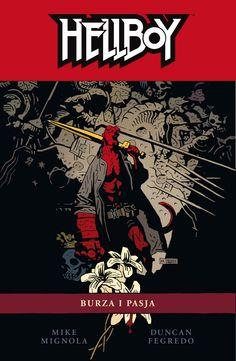 Hellboy #12: Burza i pasja #komiks