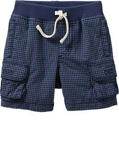 Pull-On Madras Shorts for Baby
