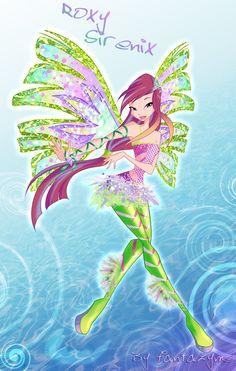 Winx season 5 Roxy Sirenix by fantazyme on deviantART
