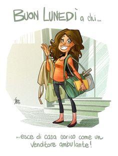Illustrations for boring monday mornings | 2013 by simona bonafini, via Behance