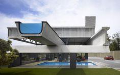 The 1st floor swimming pool from Hemeroscopium House by Ensamble Studio